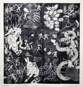 Jan Curious, 'Chinese Zodiac', 2015