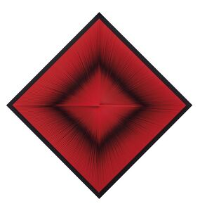 Toni Costa, 'Struttura ottica dinamica rossa (Estructura óptica dinámica roja)', 1965