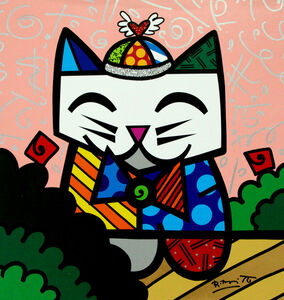 Romero Britto, 'In The Park', 2017