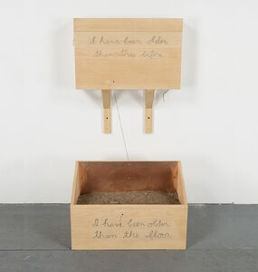 Robert Kinmont, 'I have been older than this before  ', 2015
