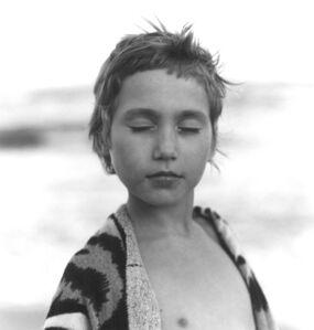 Frauke Eigen, 'Mädchen am Strand (Girl on the Beach), Ukraine', 2001