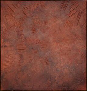 Anneliese Schrenk, 'Säure (Großes Rostrotbraun)', 2010