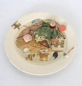 Richard Shaw, 'Lowtide Frog with Puzzle Plate', 2018