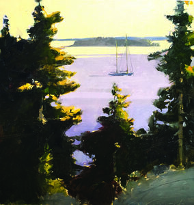 Michael Weymouth, 'Morning Light, Maine'