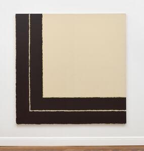 Winfred Gaul, '2 Farbmarkierungen im Winkel m. Rolle No 15-81', 1981
