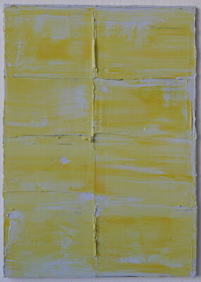"Felix Becker   ""erase   reverse"", installation view"