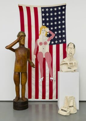 Louise Kruger: Political Work, installation view