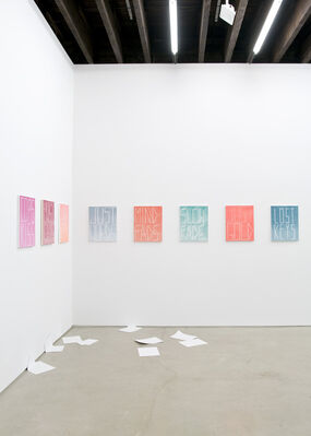 Michael Jon Gallery at ARCOmadrid 2016, installation view