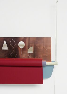 Marta Cervera at miart 2016, installation view