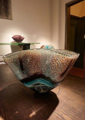 Oceans Formed: Glass Works by Midori Tsukada, installation view