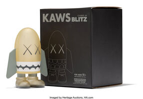 KAWS, 'Blitz (Grey)', 2004