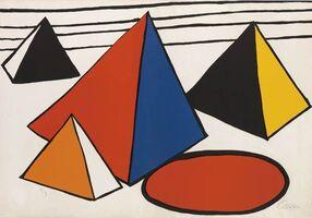 Alexander Calder, 'Pyramids', 1970
