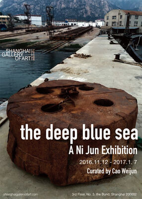 The Deep Blue Sea, installation view