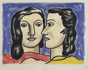 Les Deux Visages. The Two Faces
