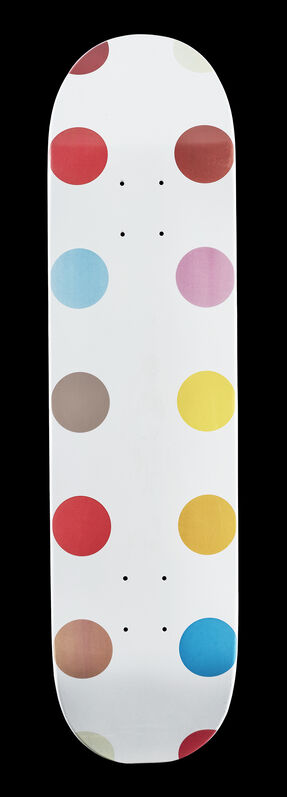 Damien Hirst, 'Spot II', 2009, Print, Screen print in colours on maple wood skate deck, Tate Ward Auctions