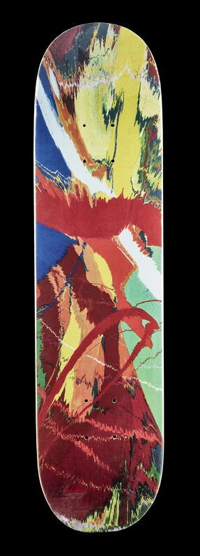 Damien Hirst, 'Spin (Yellow)', 2009, Print, Screen print in colours on maple wood skate deck, Tate Ward Auctions
