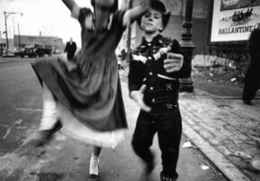 William Klein, 'Dance in Brooklyn 2, New York', 1955