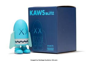 KAWS, 'Blitz (Blue)', 2004