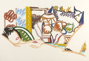 Tom Wesselmann, 'Monica Nude with Cezanne', 1990-1995