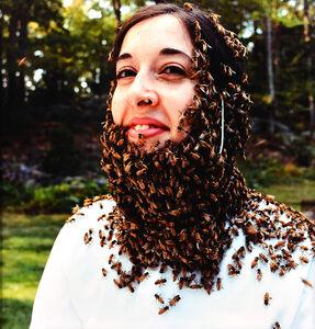 Hope Ginsburg, 'Bearded lady', 2000