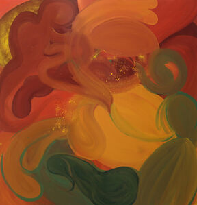 Emily Platzer, 'Drum painting III', 2019