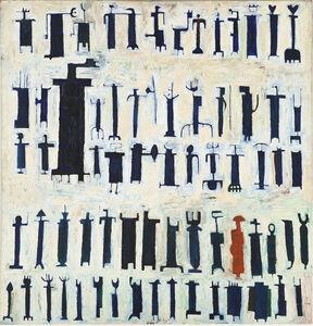 Parviz Tanavoli, 'Last Poet of Iran', 1962