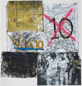 Oscar Murillo (b. 1986), 'Postures (New Years resolution 2011-12 series)', 2011-2012