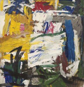 Michael Goldberg, 'Park Avenue Facade', 1957-1958