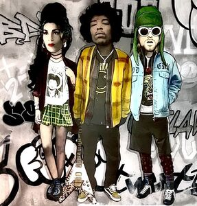 The Producer BDB, 'Jimi Hendrix, Amy Winehouse, Kurt Cobain', 2016