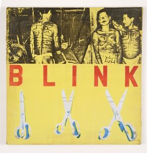 Alison Knowles, 'Blink', 1963