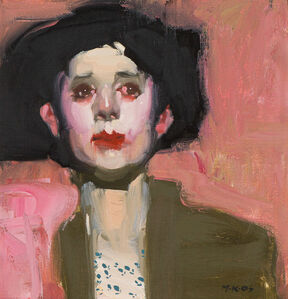 Milt Kobayashi, 'Klimt Woman', 2005