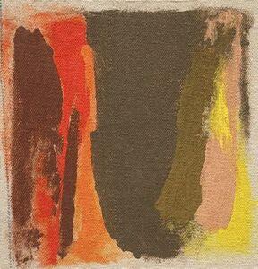 Friedel Dzubas (1915-1994), 'Inca (sketch)', 1975