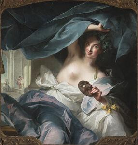 Jean-Marc Nattier, 'Thalia, Muse of Comedy', 1739