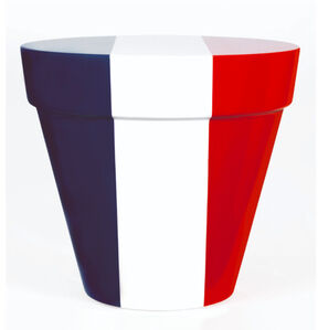 Jean-Pierre Raynaud, 'Objet Drapeau (France) - Pot', 2005
