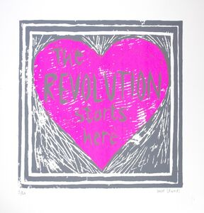 Tinsel Edwards, 'Love's Revolution Pink', 2014