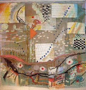 Susan Klebanoff, 'Abstract #1'