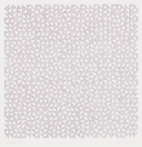Anni Albers, 'Triadic DR III', 1969