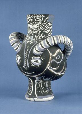 Picasso Ceramics, installation view