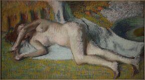 Après le Bain, (Femme Nue Couchée) (After the Bath (Lying Nude))
