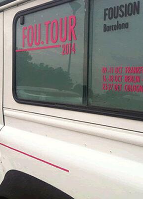 FOU.TOUR 2014, installation view