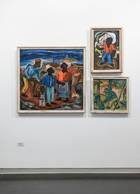 The Soul of Black Art: A Collector's View, installation view