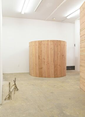 From from, installation view