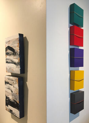Poetry In Paint, installation view