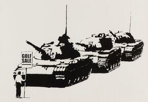 Banksy, 'Golf Sale', 2004