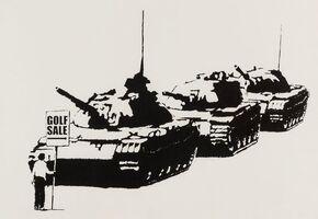 Banksy, 'Golf Sale (Signed)', 2003