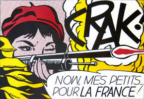 Roy Lichtenstein, 'Crak', 1964