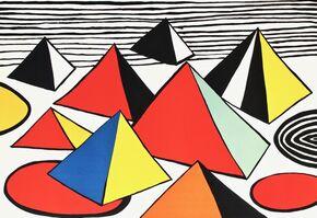 Alexander Calder, 'Pyramids (Tank Trap)', c. 1975