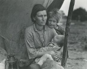 Migrant Mother, Nipomo, California (and three variants)