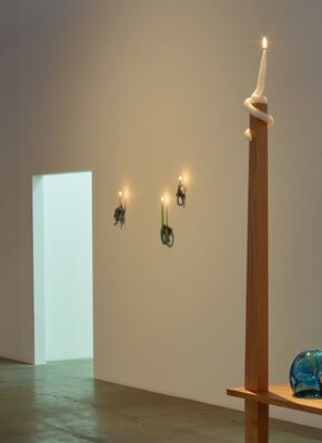 Kelly Akashi: Being as a Thing, installation view