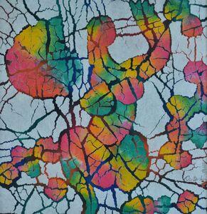 Qiu Deshu 仇德树, 'Fissuring', 1987